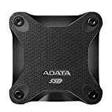 ADATA SD600 3D TLC NAND Flash External Solid State Drive (ASD600-256GU31-CBK, 256 GB)