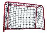 Hockeytor, fertig montiertes Tor für Streethockey, Floorball, Eishockey 90x60 cm Halona