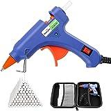 Dweyka Pistolet à Colle Chaude 75pcs Bâtons Chauffrage Rapide et Sûr Pistolet à Colle 20W, y compris un sac à outils, Anti éc
