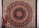 Twin Elefant Tapisserie Hippie Hippie-, Wandbild, Überwurf, Bohemian Mandala, Baumwolle Wohnheim Betten Tagesdecke Decor