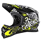 O'Neal Backflip RL2 Evo Attack Kinder Helm Gelb DH FR MTB Downhill Mountain Bike Fahrrad Fidlock