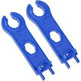 Futurekart MC4 Panel Connector Disconnect Wrench Cutting Spanner Tool 2 Pieces - Blue