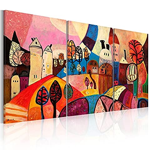 murando IMAGE 120x60 cm | IMAGE PRINTED ON CANVAS | WALL ART PRINT | PICTURE | 3 PIECES | abstract beautiful 5711