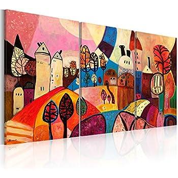 Impression sur toile 120x60 cm - 3 pieces - Image sur