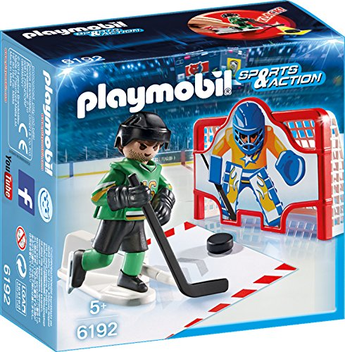 Playmobil 6192 - Eishockey-Tortraining