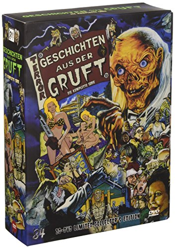 Geschichten Aus Der Gruft Staffel 1 7 Limited Collectors Edition 20 Dvds