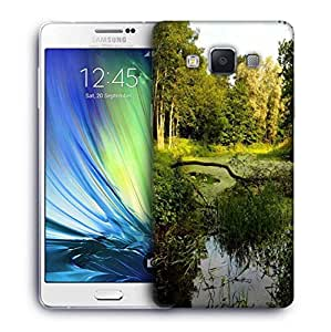 Snoogg Lake In Forest Designer Protective Phone Back Case Cover For Samsung Galaxy ON5