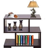 AAROORA Bedside End Table Home Bedroom & Living Room Multipurpose Storage Engineered Wood Bedside Table (Wenge…