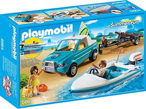 PLAYMOBIL 6864 - Surfer-Pickup mit - Batterie-autos Für Mädchen
