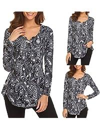 miglior servizio c9eb5 99a9f Amazon.it: Maglie Donna Particolari - Bluse e camicie / T ...
