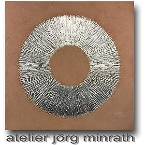 Jörg Minrath - Handgemaltes Original - Gemälde auf Holzkeilrahmen - 100 x 100 cm - Abstrakte Bilder - Modern Art - Kunst - Painting - Zeitgenössische Kunst - Abstrakte Malerei