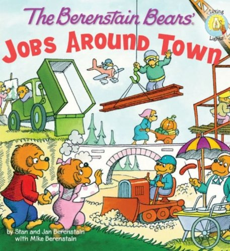 The Berenstain Bears: Jobs Around Town (Berenstain Bears/Living Lights) (English Edition)