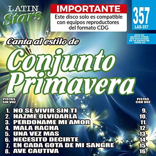 Karaoke Latin Stars by Conjunto Primavera K