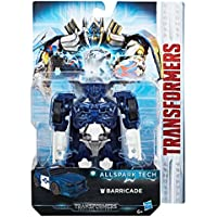 Transformers tous Spark Tech Barricade Figure