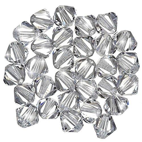 ilion Bicone (001) Kristall 6mm Perlen PK30 ()