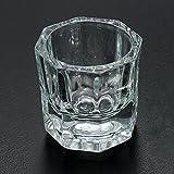 Bluelover Professional Nail Art Crystal Glass Becher Für Flüssiges Acryl-Pulver