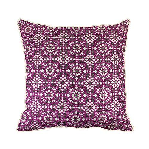 Marokkanischer Kissenbezug, Luxus-Designer-Stil, Jacquard-Chenille-Gewebe, geometrisches Muster im...