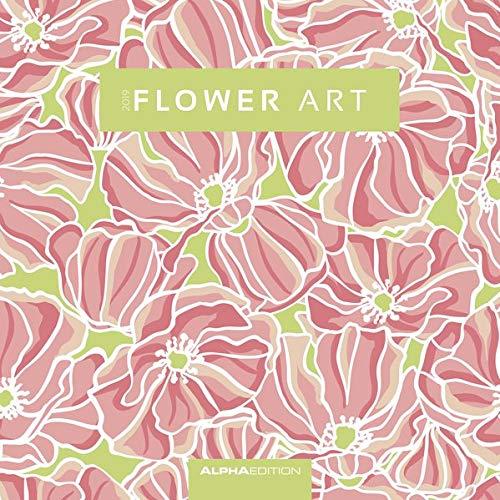 Flower Art 2019 Broschürenkalender