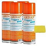 4 x 200 ml Ardap FOGGER Ungeziefer Vernebler gegen Insekten + Insektenschwamm