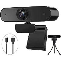 BENEWY Full HD 1080P Webcam, Webcam USB Plug & Play USB Mikrofon Webcam mit Mikrofon für PC, YouTube, Skype Videoanruf…