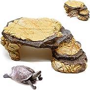 Turtle Basking Platform, Turtle Floating Platform, Reptile Turtle Basking Platform, Reptile Hide Cave Turtle Frog Floating P
