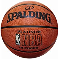 Spalding Basket Topu NBA Platinum Outdoor 73-304 (63-758Z) No:7 TOPBSKSPA153