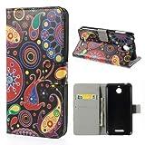 jbTec® Flip Case Handy-Hülle zu HTC Desire 510 - BOOK