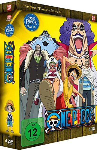One Piece - Box 16: Season 14 (Episoden 490-516) [6 DVDs] Fall One Piece