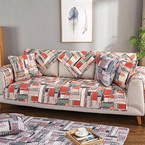 Sofa möbel protector für hund Die ganze saison couch decken Rücken und armlehne separat Anti-rutsch-sofa werfen deckt baumwolle-B 43x43inch(110x110cm) (Couch Loveseat Liege)