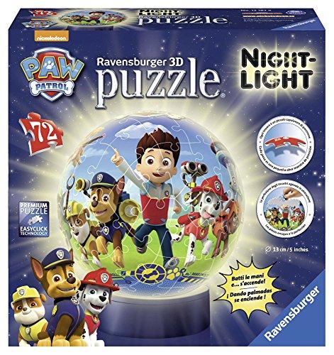 Ravensburger 12187 - Paw Patrol Lampada Notturna Puzzle...