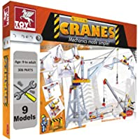 Toykraft: Cranes - Multi Models Mechanics STEM Toy for Children 8 Years & Above