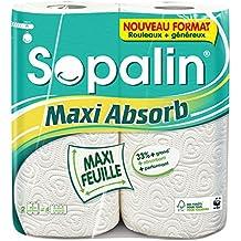 Sopalin Maxi Absorb 2=4 Rouleaux - Blanc Paquet