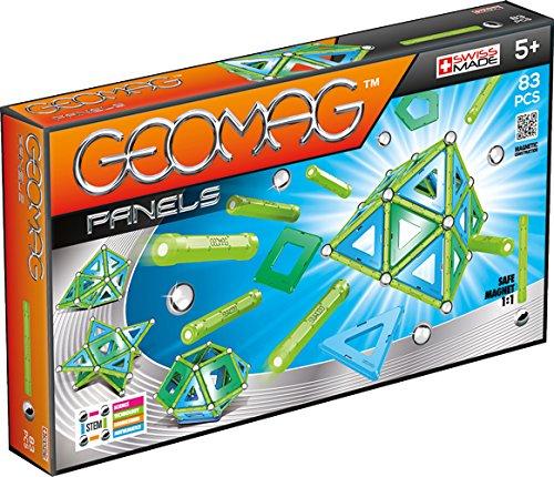 Geomag- Classic Panels Construcciones magnéticas y juegos educativos, Multicolor, 83 piezas (462)