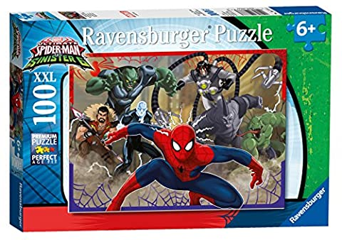 Ravensburger 10777 Marvel Ultimate Spider-Man Vs Sinister Six XXL Jigsaw Puzzle - 100 Pieces