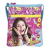 Perletti Umhängetasche für Mädchen mit Motiven aus Disney Soy Luna - Kleine Umhänge für Kinder mit Frontverschluss - Fuchsia