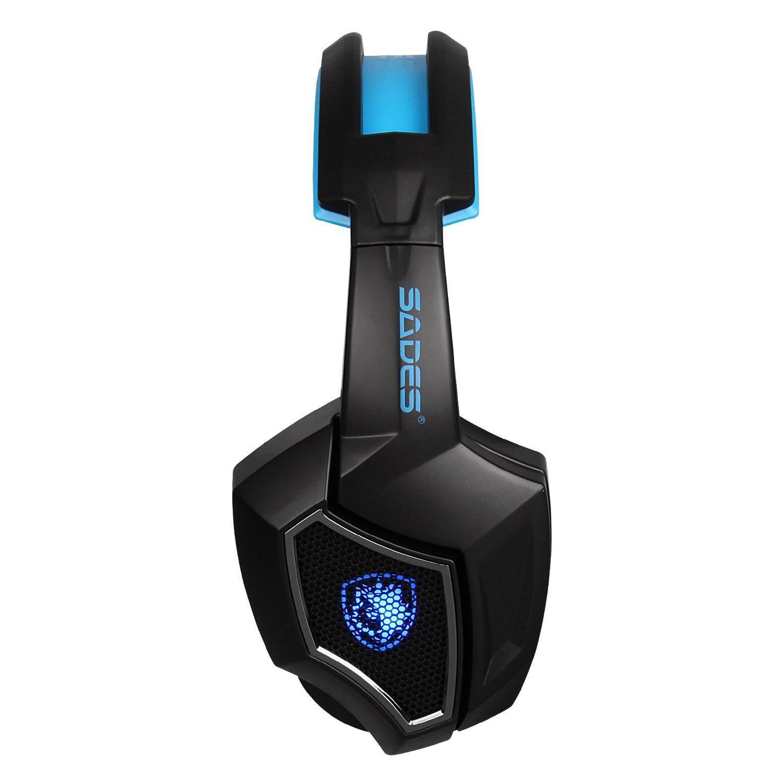 gaming headset f r ps4 kopfh rer pc laptop stereo mikrofon. Black Bedroom Furniture Sets. Home Design Ideas