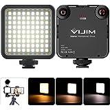 Luce LED Fotografia Dimmerabile Mini LED Luce Video Ultra Videocamera a Pannello,Video Light per Smartphone Telecamera Pocket