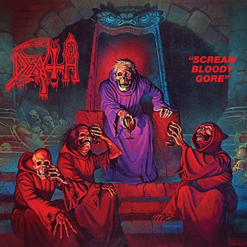 Scream Bloody Gore - Royal Blue Vinyl