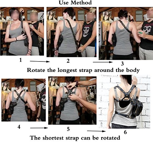 61MzuaMyirL. SS500  - FiveloveTwo® Men Women Multi-purpose Tactical Drop Leg Arm Bag Pack Hip Belt Waist Messenger Shoulder Fanny Packs Steampunk Bag Wallet Purse Pouch Bag
