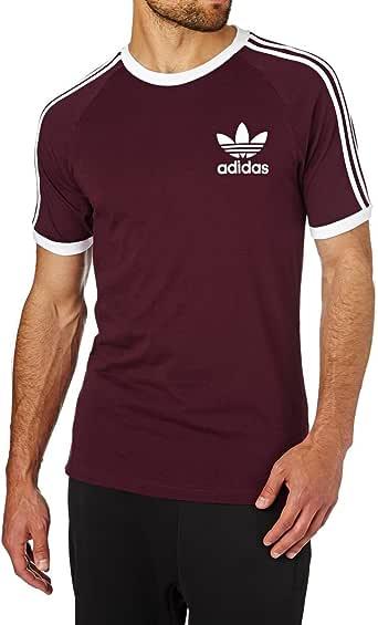 tee shirt adidas homme bordeaux