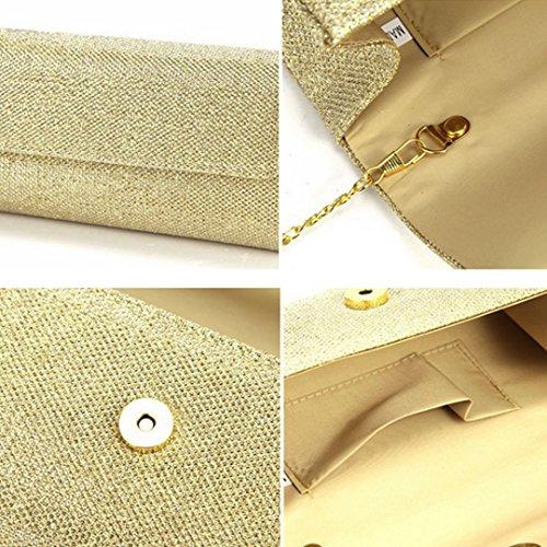 Millya, Poschette giorno donna, Sliver (argento) - kb-00191-02 Gold