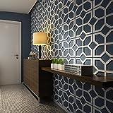 HomeArtDecor - 3D Wandpaneele - Panele 3D - Wandverkleidung - Dekorative Wandpaneele - Mitte des Jahrhunderts Modern - Wandpaneele - Verkleidungen