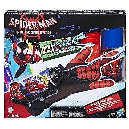 Spider-Man Miles Morales Mega Blast Web Shooter mit Handschuh, zum Abfeuern von Spinnenfäden -