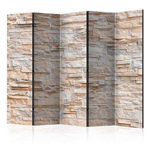 Murando Biombo Piedras 225x172 cm impresión Unilateral