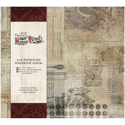 Papermania Madame Payraud Postbound Album 8 « X 8 »-