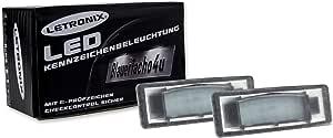 Letronix Smd Led Kennzeichenbeleuchtung Module Geeignet Für Tucson Facelift I40 Stufenheck Limousine Sportage Typ Ql Ceed Proceed Ceed Gt Typ Cd Stonic E Soul Mit E Prüfzeichen Auto