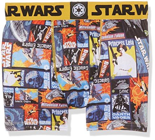Star Wars Herren Boxershorts 2er Pack Mehrfarbig (Multicolor A2)