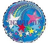 "18"" Packaged Congratulations Balloon."
