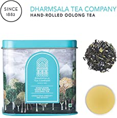 Himalayan First Flush Oolong Tea | Hand Rolled Oolong Tea | Chinese Styled Tea | Pure Whole Tea Leaves | Organic Certified | Loose Leaf | 25 gm Tin | 15 Cups