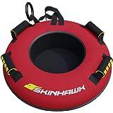 SKINHAWK Profi Snow Tube - Neumático para nieve (70 cm de diámetro, antideslizante), color rojo